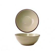 ITI GR-24 10 oz. Granada Brown Speckled Oatmeal / Nappie Bowl - 3 doz