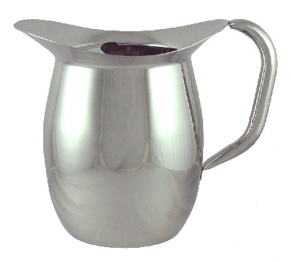 ITI IBGS-I-C3W/G 3qt Deluxe Bell Pitcher With Guard