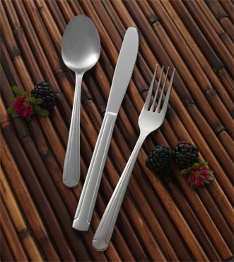 "ITI IFDOM-113 Dominion Medium Bouillon Spoon 5-7/8"" - 3 doz"