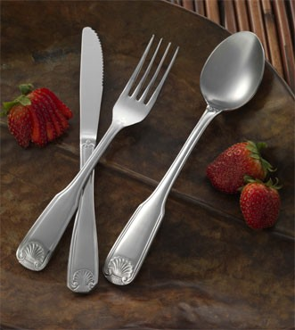 "ITI IFNA-111 Nautilus Teaspoon 6-1/4"" - 1 doz"