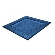 ITI-IGPB-8-8--Square-Blue-Glass-Dish---2-doz