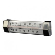 ITI ITH-70055 Round Refrigerator Thermometer with NSF Standard -20 to 80 F - 50 pcs