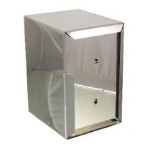 "ITI ITW-I-AF 6"" Napkin Dispenser Stainless Steel"