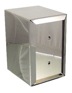 """ITI ITW-I-AF Stainless Steel Full Size Napkin Dispenser 6"""":"""