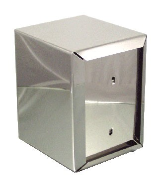 """ITI ITW-I-AH 5-3/8"""" Napkin Dispenser Half In Stainlesss"""