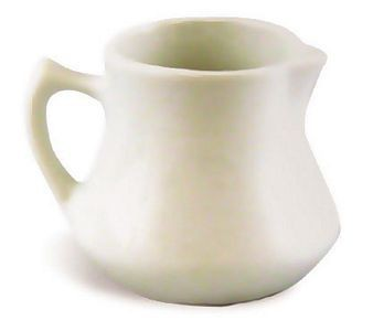 ITI PC-4-EW Pacific European White Creamer 4 1/2 oz. - 2 doz