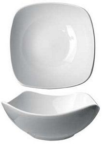 ITI QP-11 10 oz. Quad Square Fruit Bowl - 3 doz