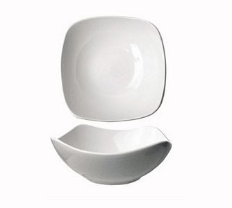 ITI QP-15 46 oz. Quad Square Bowl - 1 doz