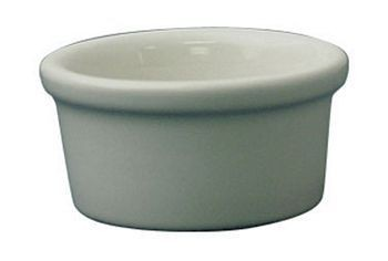 ITI RAM-35-EW 3- 1/2 oz. Cancun European White Ramekin - 4 doz