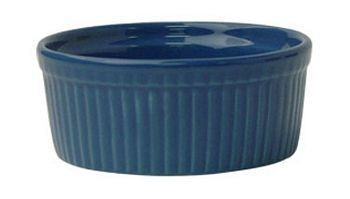 ITI RAMF-10-LB 8 oz. Light Blue Fluted Ramekin - 3 doz