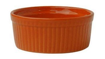 ITI RAMF-10-O 8 oz. Cancun Orange Ramekin - 3 doz