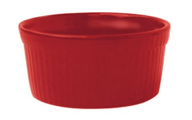 ITI RAMF-2-CR 2 oz. Red Fluted Ramekin - 3 doz