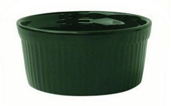 ITI RAMF-2-G 2 oz. Green Fluted Ramekin - 3 doz