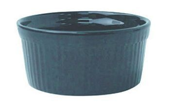 ITI RAMF-2-LB  2 oz. Light Blue Fluted Ramekin - 3 doz