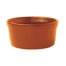 ITI RAMF-2-O 2 oz. Cancun Orange Fluted Ramekin - 3 doz
