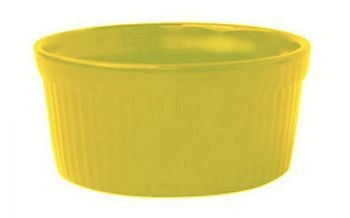 ITI RAMF-2-Y 2 oz. Yellow Fluted Ramekin - 3 doz