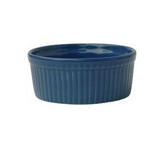 ITI RAMF-4-LB 4 oz. Light Blue Fluted Ramekin - 3 doz