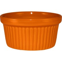 ITI RAMF-4-O 4 oz. Cancun Orange Fluted Ramekin - 3 doz