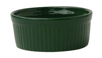 ITI RAMF-8-G 6 oz. Green Fluted Ramekin - 3 doz