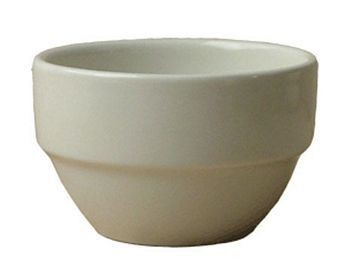 ITI STB-8-AW 8-1/2 oz. American White Stackable Bowl - 3 doz