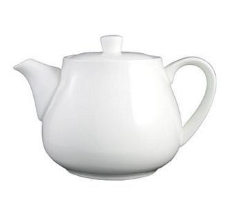 ITI TP-24-EW 21 oz. European White Tea / Coffee Pot - 3 doz