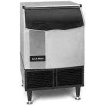 Ice-O-Matic-ICEU150FW-Undercounter-Water-Cooled-Cube-Style-Ice-Maker-With-73-lb--Built-In-Bin