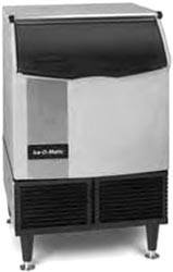 Ice-O-Matic ICEU150FW Undercounter Water Cooled Cube Style Ice Maker With 73 lb. Built-In Bin