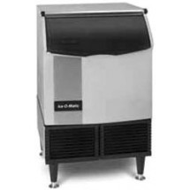 Ice-O-Matic ICEU22OHW Undercounter Water Cooled Cube Styled Ice Maker With 74 lb. Built-In Bin