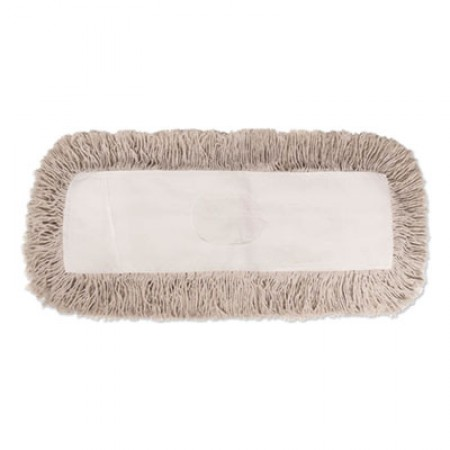 Industrial Dust Mop Head, Hygrade Cotton, 36w x 5d, White