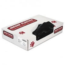"""Industrial Strength Low-Density Commercial Can Liners, 30 gal, 0.65 mil, 30"""" x 36"""", Black, 200/Carton"""