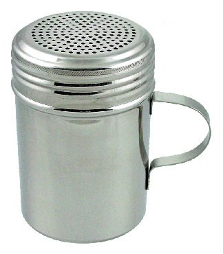 International Tableware IKW-I-EWH Stainless Steel Dredge with Handle 10 oz. - 1 doz