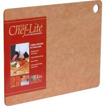 "John Boos 1813-E25-4 Chef-Lite Essential Series Cutting Board 18"" x 13"" x 1/4"""
