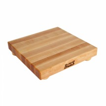 "John Boos B12S Square Maple Cutting Board 12""x 12"" x 1-1/2"""