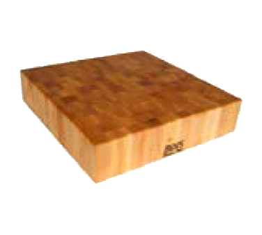 "John Boos BB01 Chinese Chopping Block 24"" x 24"" x 6"""