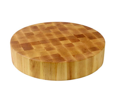 John Boos CCB183-R Round Maple Chopping Block 18""