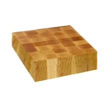 "John Boos CCB24-S Square Maple Chopping Block 24"" x 24"""