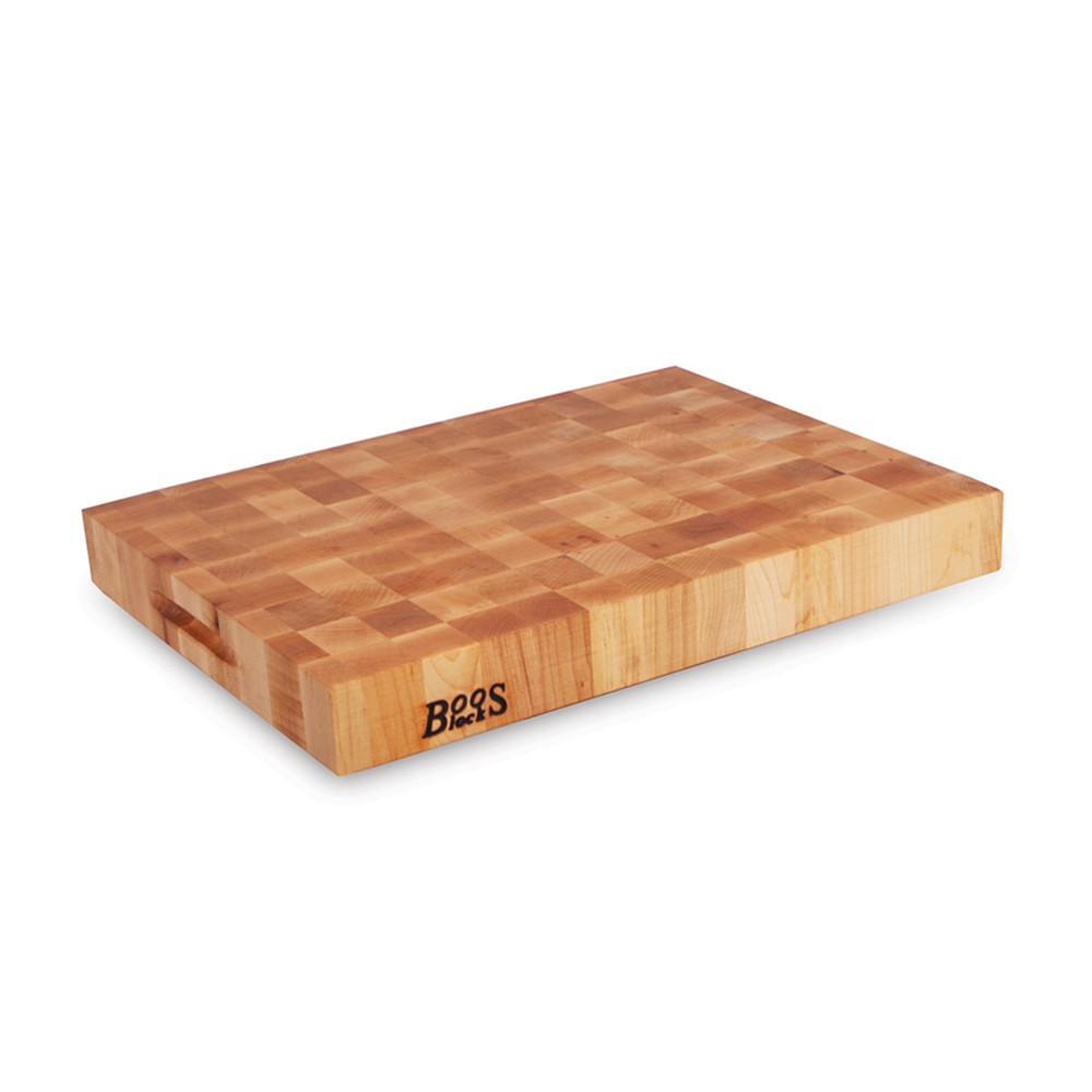 "John Boos CCB2418-225 Chinese Chopping Block 24"" x 18"" x 2-1/4"""