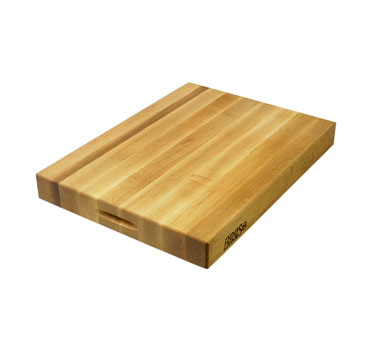 "John Boos RA01 Maple Reversible Cutting Board 18"" x 12"" x 2-1/4"""