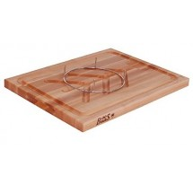 """John Boos SLIC Maple Slicer Board with Removable Meat Pins 20"""" x 15"""""""