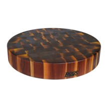 John Boos WAL-CCB183-R Round Walnut Chopping Block 18""