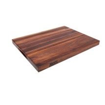 "John Boos WAL-R01-6 Walnut Cutting Board 18"" x 12"" x 1-1/2"""