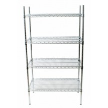 Johnson Rose 118487 Shelving Unit With Four 18