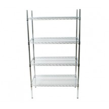 Johnson Rose 124487 Shelving Unit With Four 24