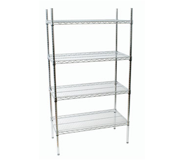 Johnson Rose 124607 Shelving Unit With Four 24