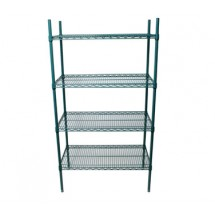 Johnson Rose 224368 Shelving Unit With Four 24