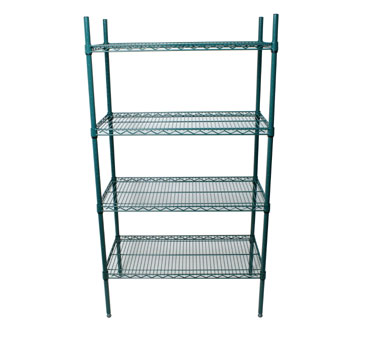 Johnson Rose 224608 Shelving Unit With Four 24