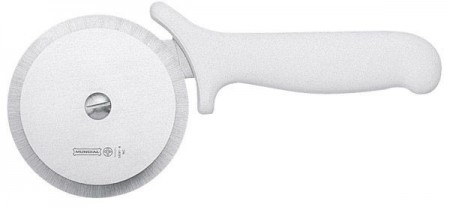 "Johnson Rose 28691 4"" Mundial Pizza Cutter With White Plastic Handle"
