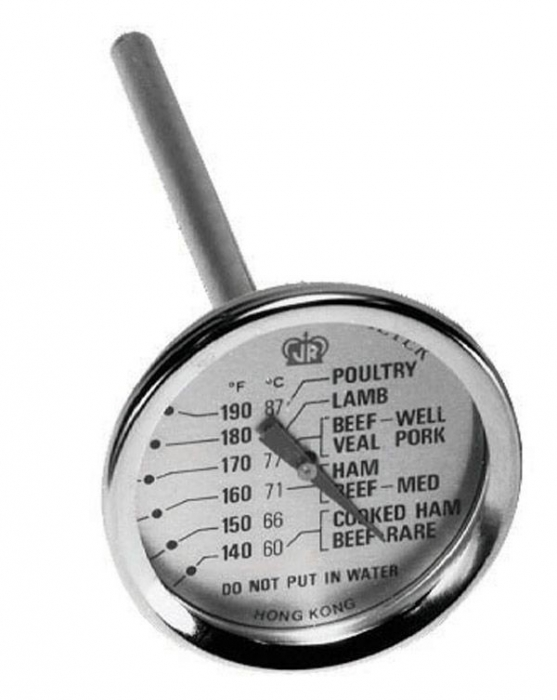 Johnson Rose 30200 Dial Meat Thermometer 2""