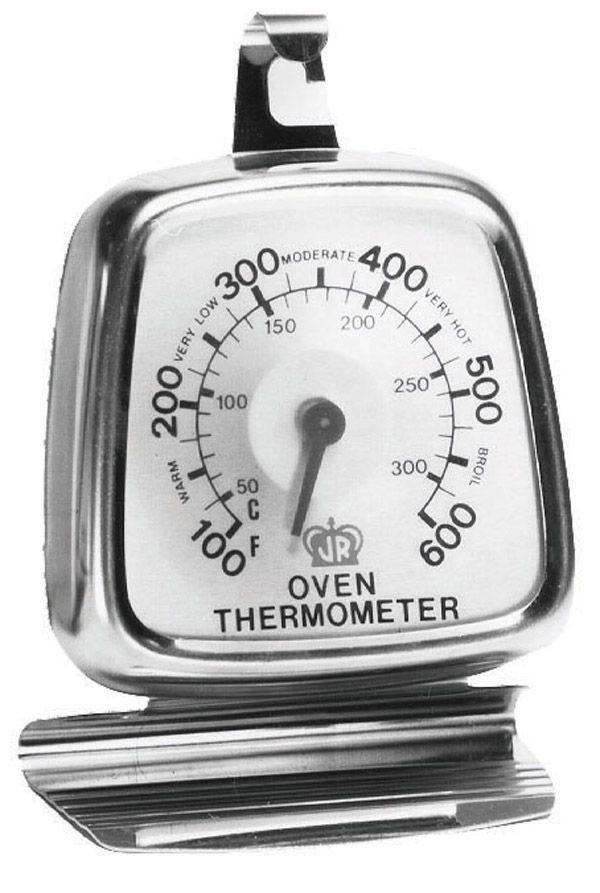 Johnson Rose 30300 Dual Dial Oven Thermometer Up To 600 Degrees F