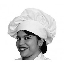 Johnson-Rose-30964-White-Chef-s-Hat-Poly-Cotton